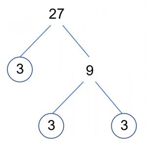 27 Factor Tree