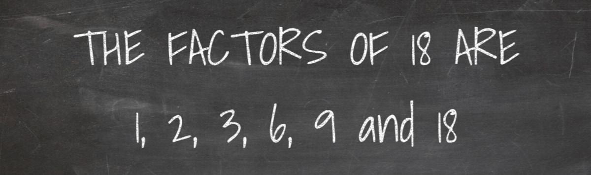 Factors of 18