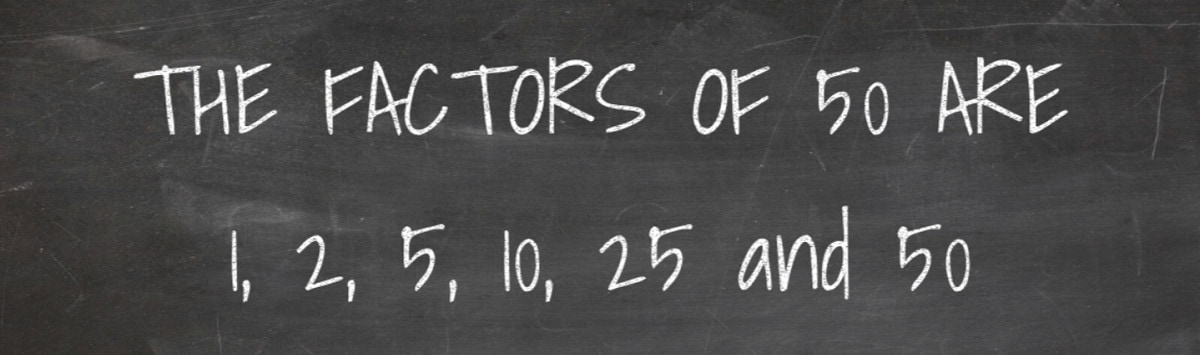 Factors of 50