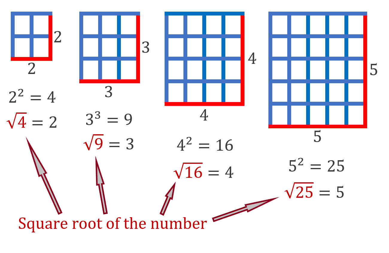 Square Root of the Number