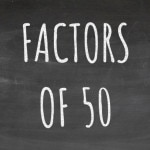 The Factors of 50 Cover