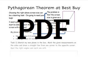 Pythagorean Theorem Worksheet 4 PDF Download
