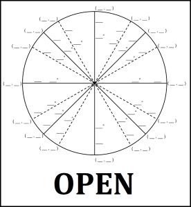 Blank Unit Circle Thumb