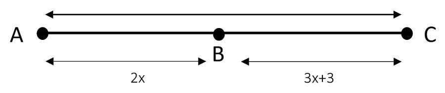 Segment Addition Postulate Example