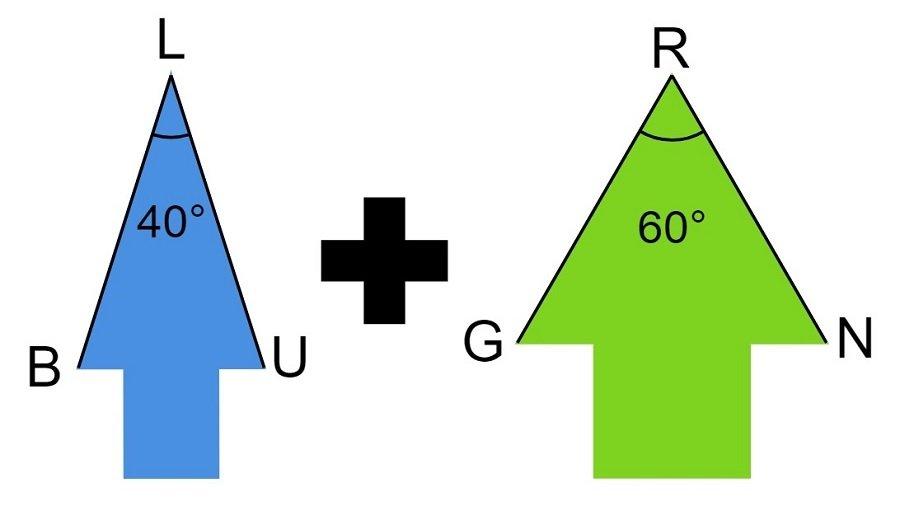 Green Blue Arrows