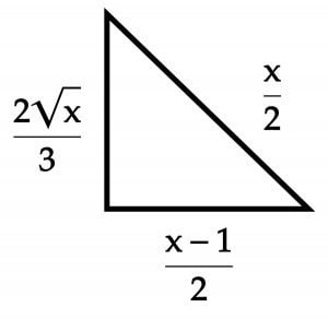 Pythagorean Theorem and Solving Rational Equations